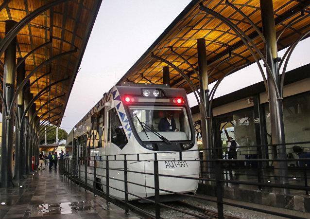 El Tren Turístico Puebla-Cholula