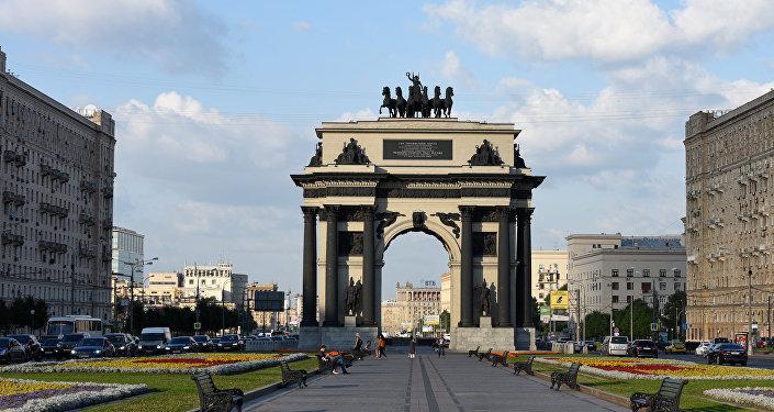 Arco del triunfo, Moscú