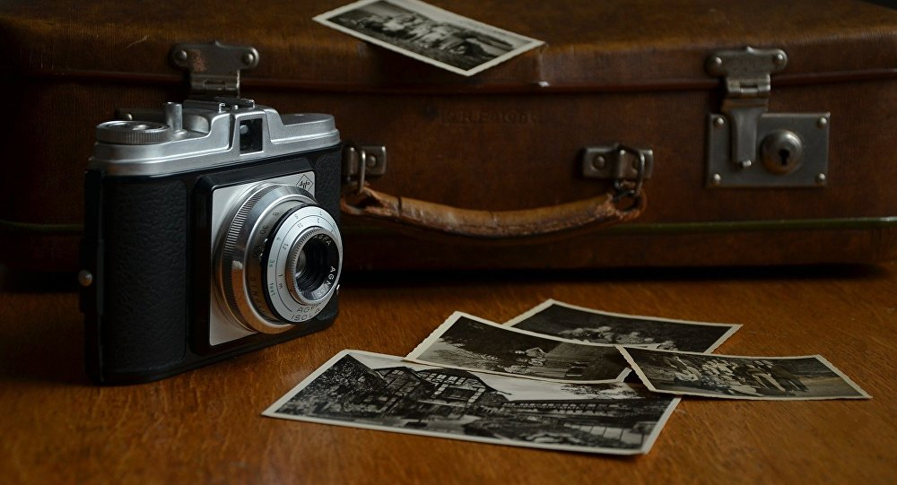 Una cámara de fotos antigua (imagen ilustrativa)