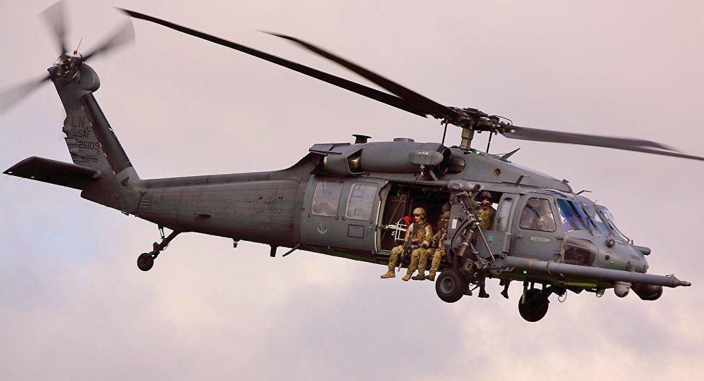 Helicóptero estadounidense HH-60 (archivo)