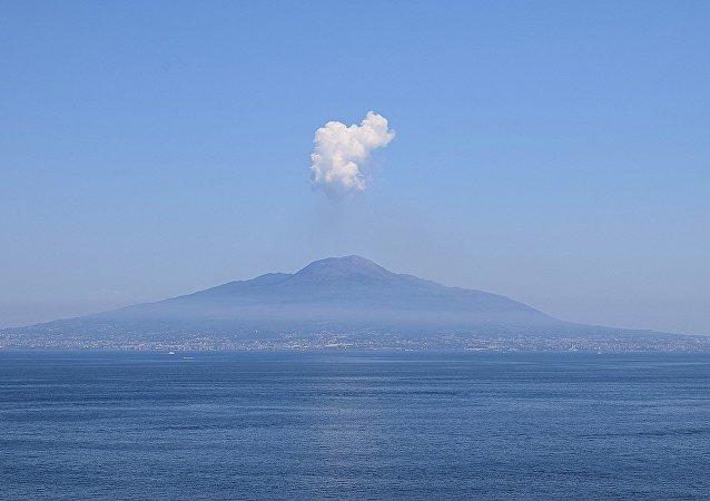 El volcán Vesubio