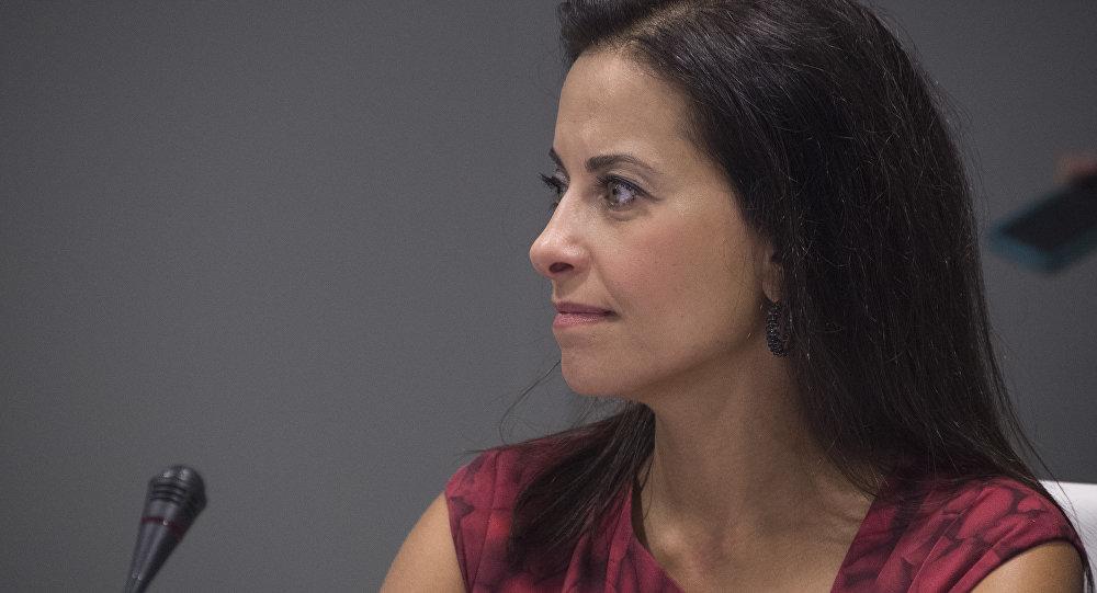 Dina Powell, exconsejera de Seguridad Nacional de presidente de EEUU