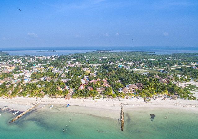Isla Holbox en Caribe mexicano