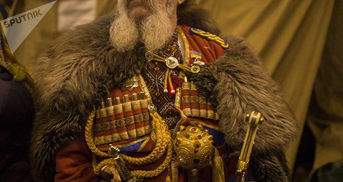 El traje de un cosaco ucraniano (imagen referencial)