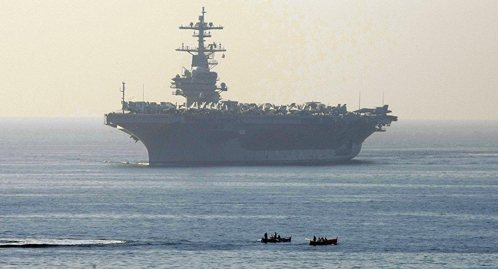 Un portaviones estadounidense (imagen ilustrativa)
