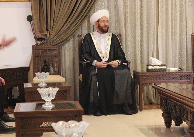 Ahmad Badreddin Hassoun, el gran muftí de Siria