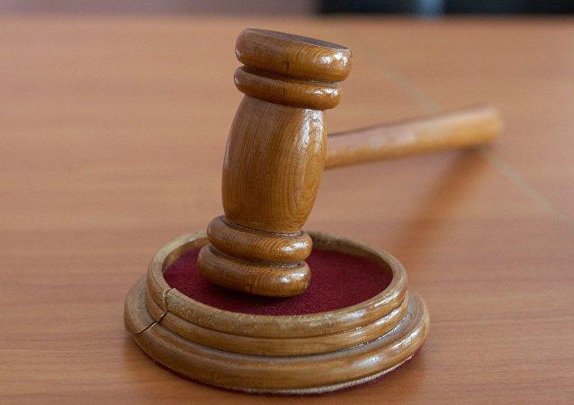 Martillo de juez (imagen referencial)