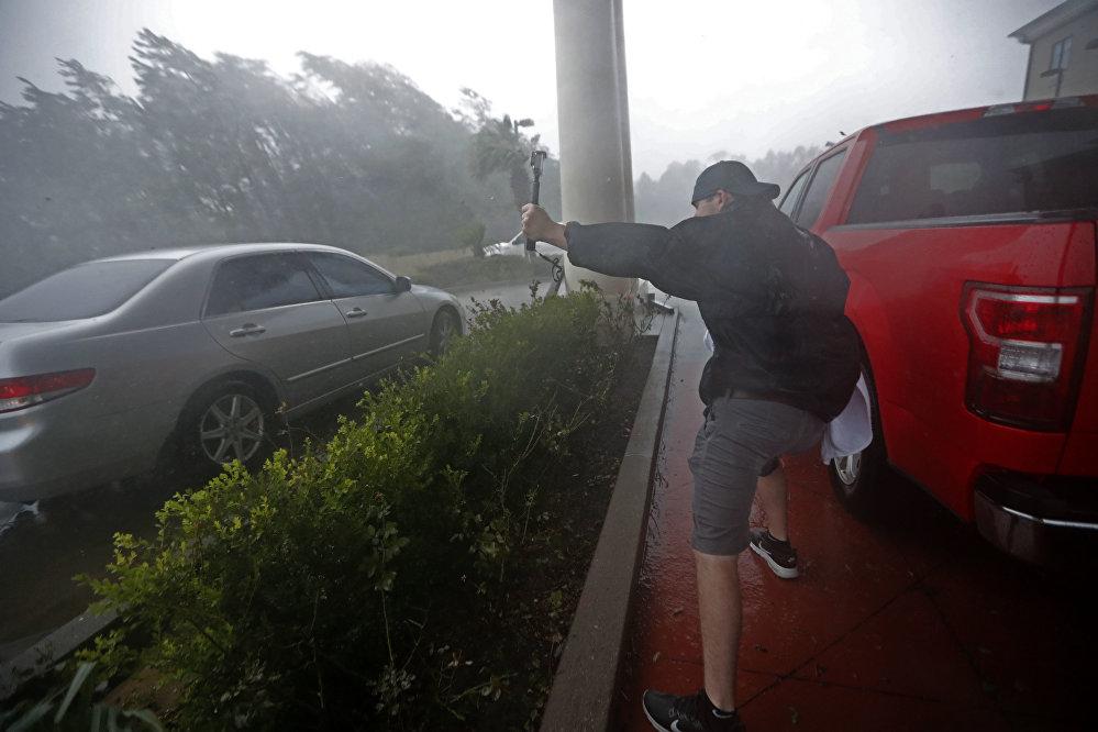 Desoladoras imágenes: la furia del huracán Michael causa estragos en EEUU