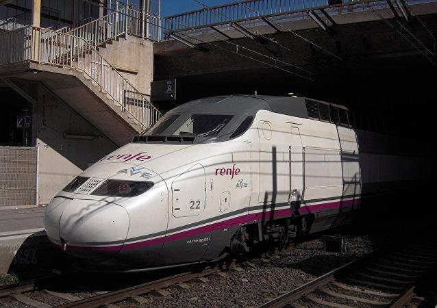 El tren AVE (archivo)