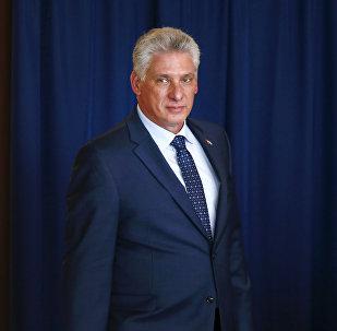 Miguel Díaz-Canel, presidente de Cuba (archivo)