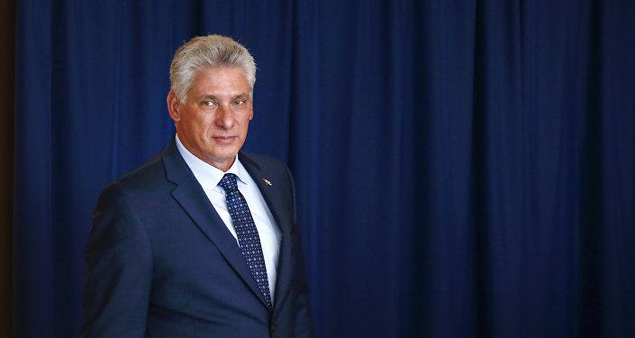 Díaz-Canel, presidente de Cuba (archivo)