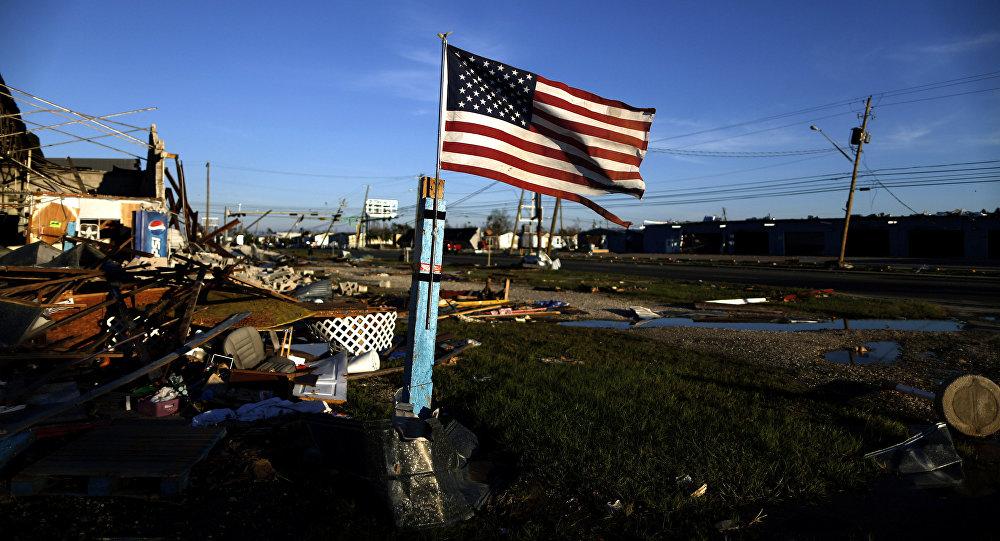 El huracán Michael en Florida