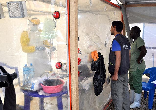 Lucha contra ébola en Congo