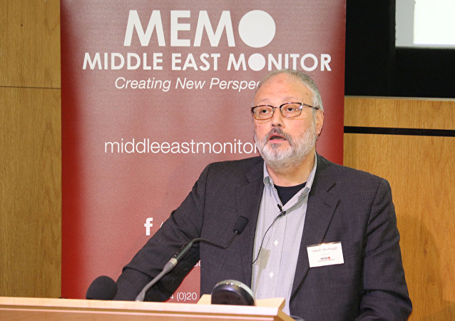 Jamal Khashoggi, periodista saudí (archivo)