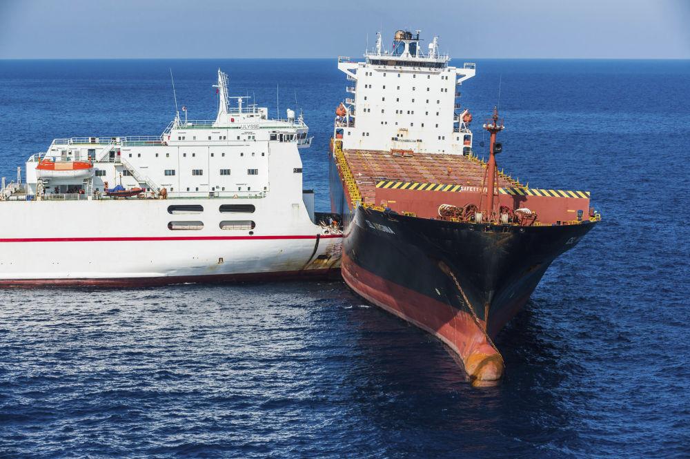 Colisión de barcos, castillos humanos y otros hechos relevantes de la semana