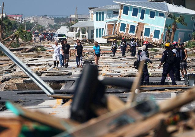 Consecuencias del huracán Michael
