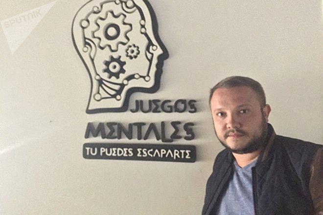 Danil Tchapovski, fundador de una de las primeras salas de escape de la Argentina