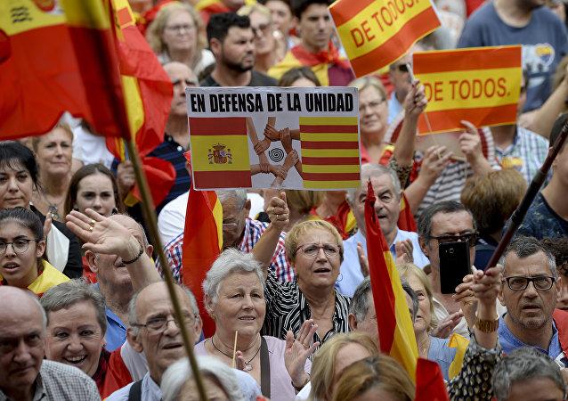 Los españoles reclaman la unidad de España