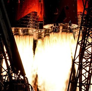 El lanzamiento del un Soyuz (archivo)