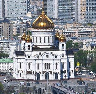 La catedral de Cristo Salvador (Redentor) de Moscú