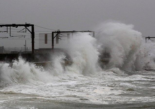 La tormenta Callum en Reino Unido