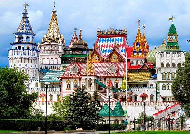 El Kremlin de Izmáilovo en Moscú (Rusia)