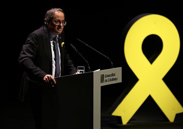 Quim Torra, presidente de la Generalitat de Cataluña (archivo)