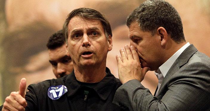 Jair Bolsonaro, presidente electo de Brasil
