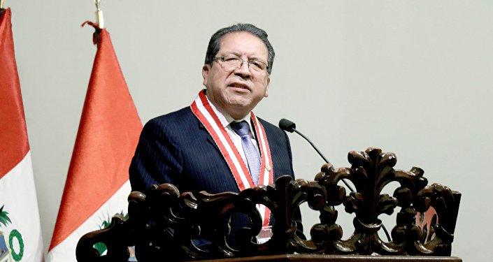 Pedro Chávarry, fiscal de la Nación de Perú