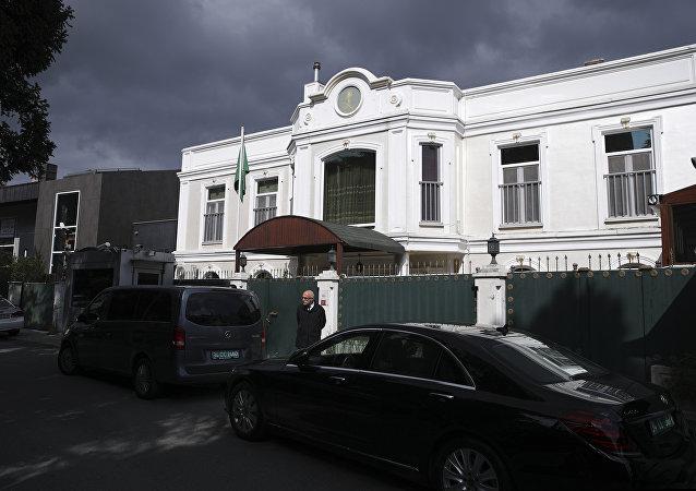 Residencia del cónsul general saudí en Estambul