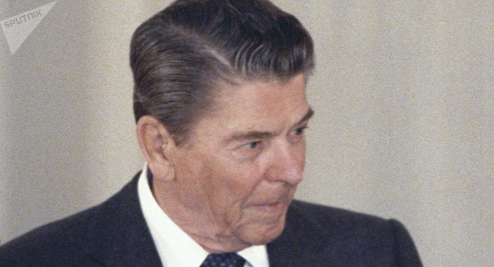 Ronald Reagan, expresidente de EEUU