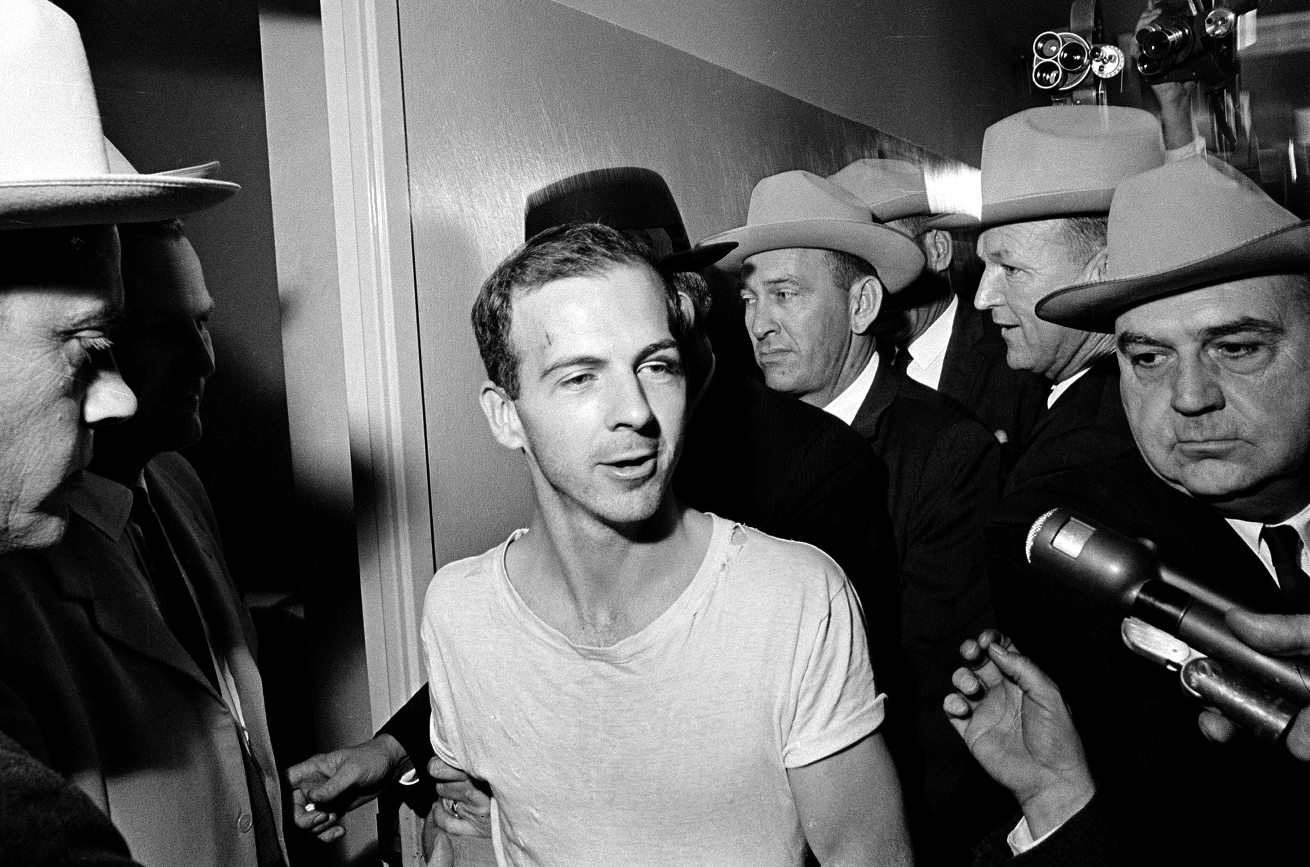 Lee Harvey Oswald, asesino del 35º presidente de EEUU, John F. Kennedy