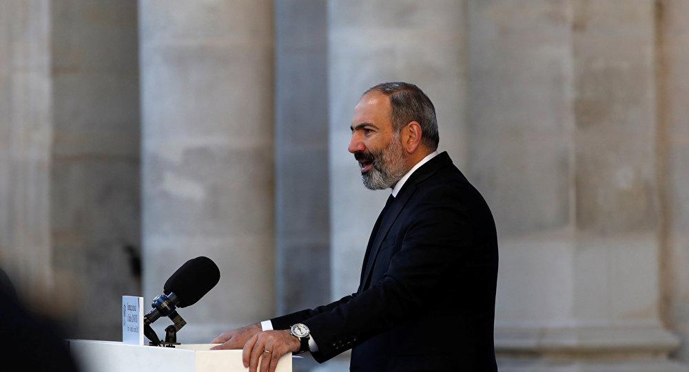 Nikol Pashinián, primer ministro de Armenia (archivo)