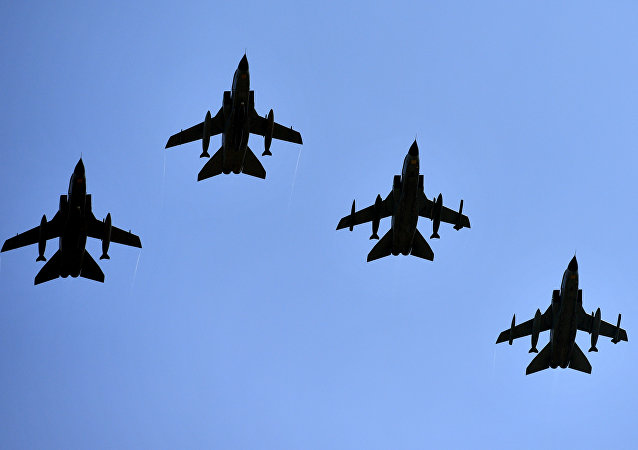 Aviones de combate alemanes Tornado