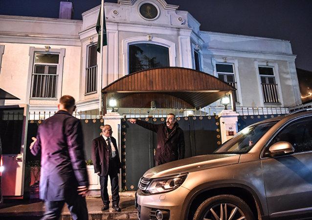 El Consulado General de Arabia Saudí en Estambul, Turquía (imagen referencial)