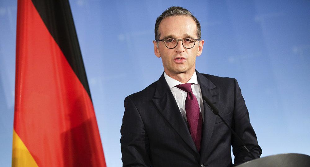 Heiko Maas, ministro de Exteriores de Alemania (archivo)