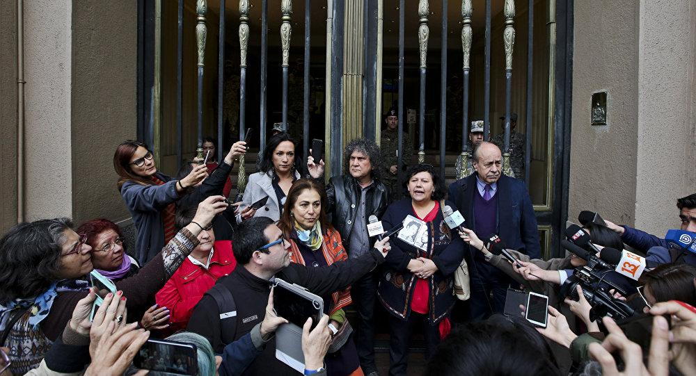 Lorena Pizarro, presidenta de la Agrupación de Familiares de Detenidos Desaparecidos de Chile
