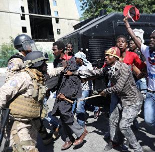 Protestas anticorrupción en Haití
