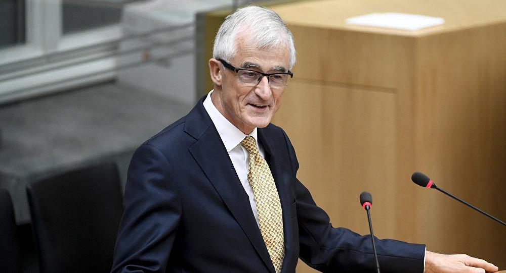Geert Bourgeois, el presidente de la región belga de Flandes