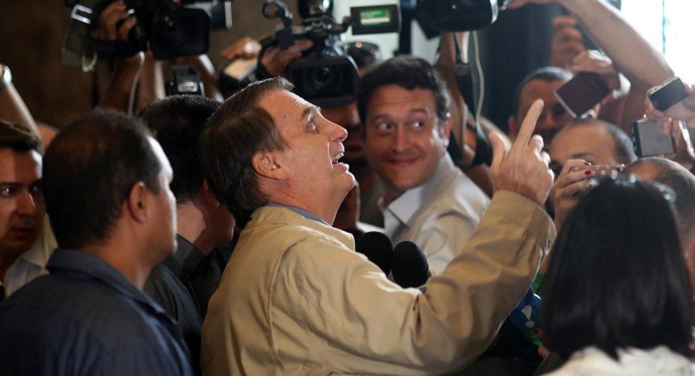 Jair Bolsonaro, candidato a la presidencia de Brasil