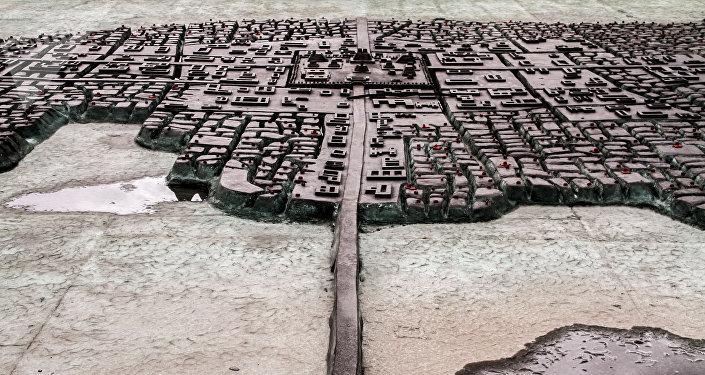 Representación de la Gran Tenochtitán