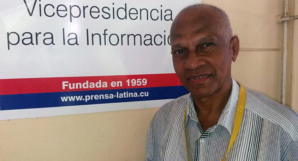 Jorge Petinaud, reportero cubano