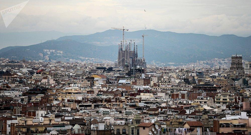 Detenido un militar francés con cargadores de pistola en la Sagrada Familia