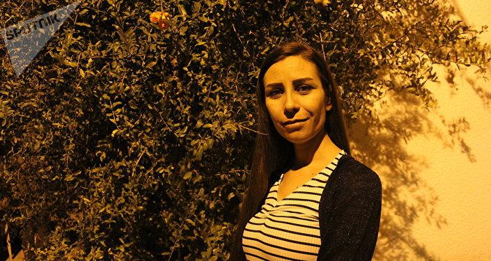 Yara Saleh, corresponsal de guerra siria
