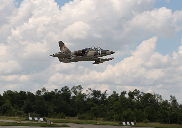 Avión de entrenamiento L-39 Albatros ruso