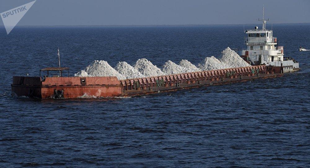 Un carguero (imagen referencial)