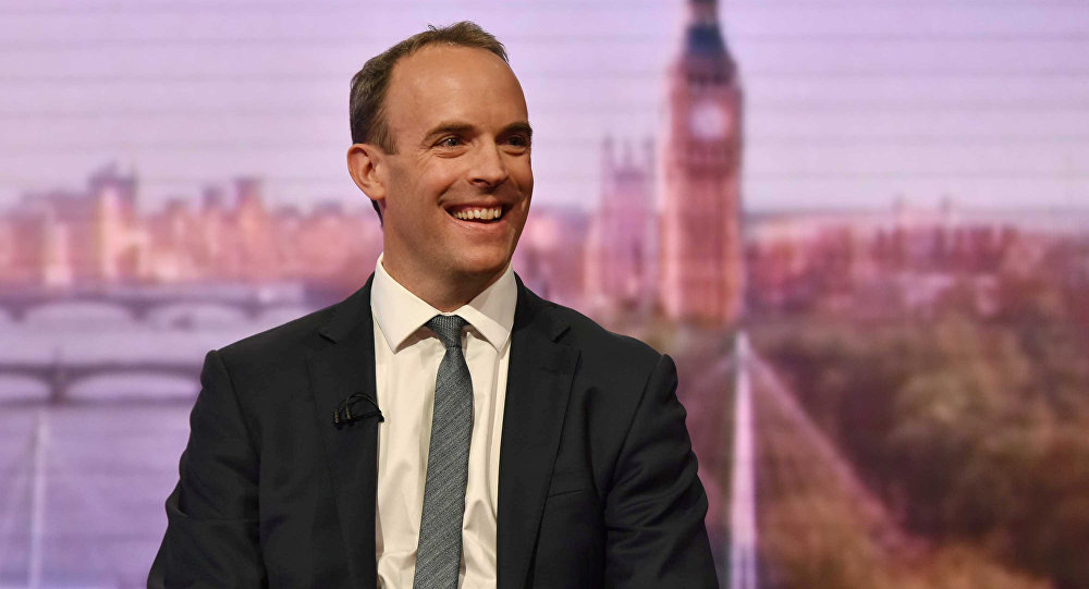 El ministro para el Brexit, Dominic Raab