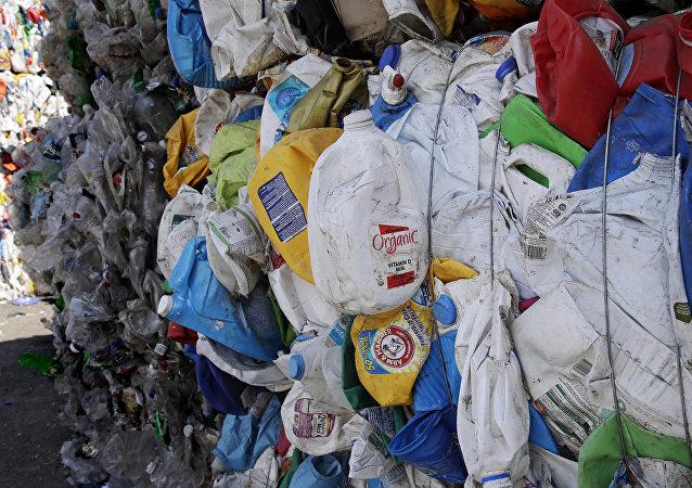 Basura para reciclar
