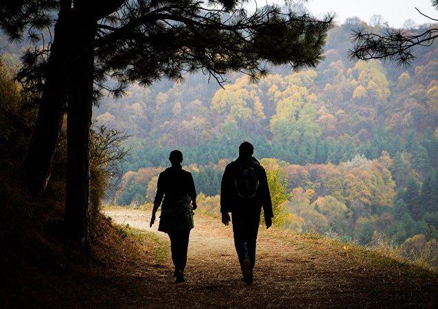 El otoño en el territorio de Stávropol