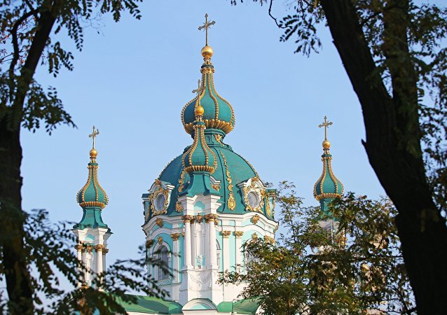 La iglesia de San Andrés en Kiev (imagen referencial)